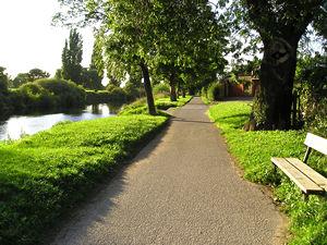 Riverside path, Clifton