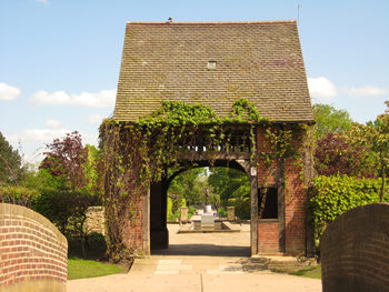 Rowntree Park – central archway
