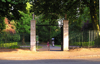 Gates to West Bank Park
