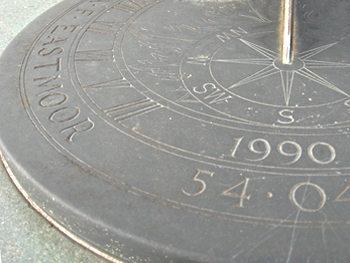 East Moor memorial – detail