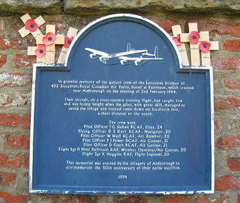 Aldborough memorial - click to enlarge