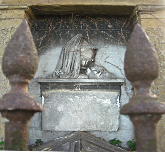 Detail, Rigg family monument