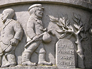 Waggoners memorial – detail /3