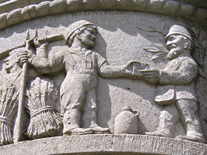 Waggoners memorial – detail /2