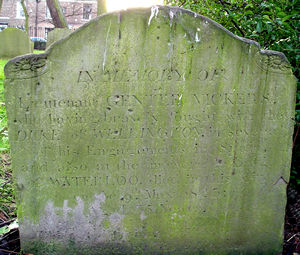 Headstone – Gentle Vickers. Click to enlarge.