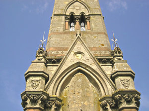 Tatton Sykes monument – detail