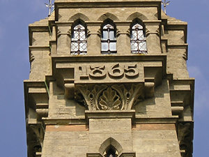 Sykes monument detail – date – 1865