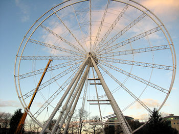 Big wheel, York, December 2011