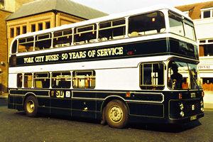Circa 1984 – celebrating 50 years of York buses