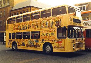 Jorvik Centre bus, 1980s