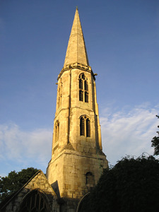 Spire of All Saints church, North Street