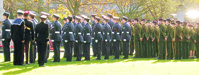 Remembrance Sunday, York, 2005