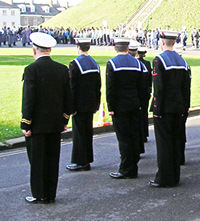 Remembrance Day, at the Eye of York, 2005