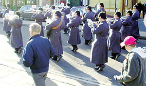 Remembrance Day parade, 2005