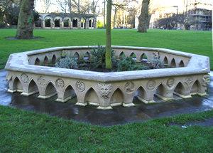 Herb garden, Dean's Park