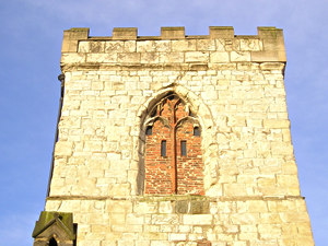 Tower of Holy Trinity, Goodramgate, 21 December 2005