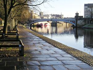 Riverside view, towards Lendal Bridge