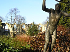 Museum Gardens sculpture