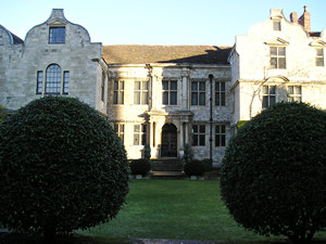Treasurer's House, on a winter's day