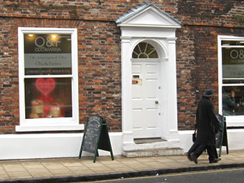 Former House and Son, now Olio and Farina, York