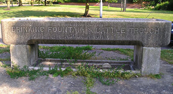 Cattle trough and drinking fountain, Acomb