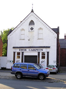 Ebor Carpets – former Methodist chapel