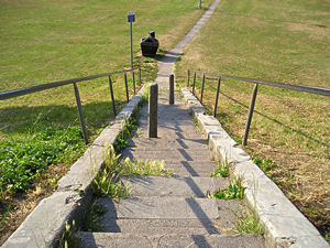 Steps at Acomb Green
