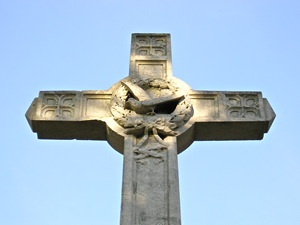 Acomb war memorial cross