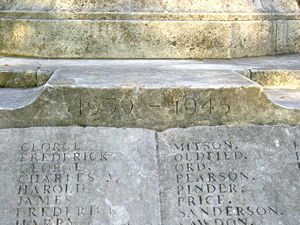Acomb war memorial