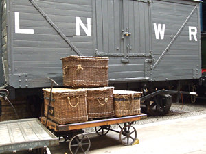 Goods and LNWR rolling stock