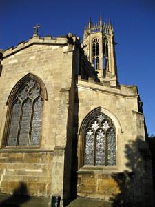 All Saints' church, Pavement