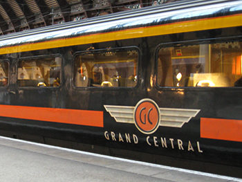 Grand Central train, York Station