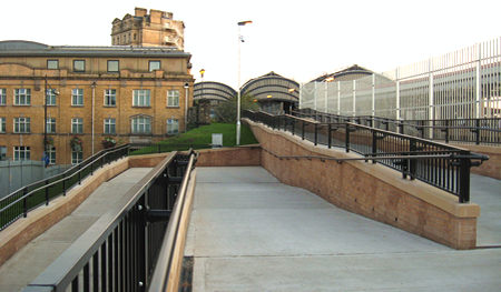New access to York Station