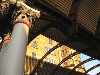 Station Hotel and those pillars again