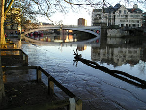 River view, towards Lendal Bridge