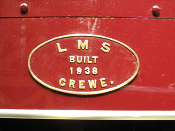 LMS – Built 1938 – Crewe