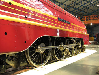 Duchess of Hamilton at the NRM
