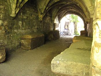 Remains of St Leonard's Hospital