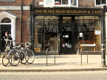 Blake Head Bookshop and Cafe, closed 2011