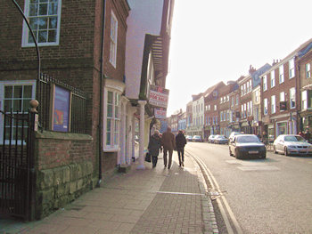 View of Micklegate