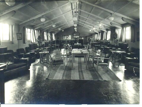 Canadian air force hostel, York, 1940s
