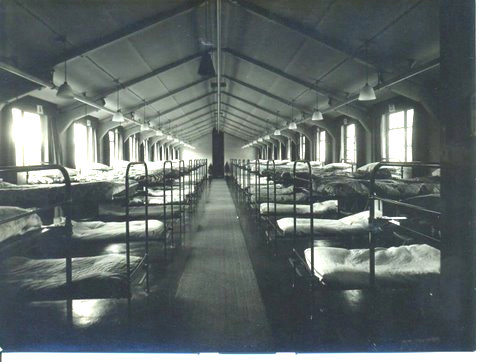 Dormitory in RCAF hostel, 1940s, York