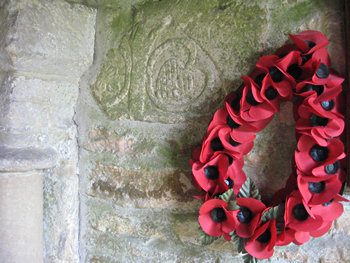 Memorial at Scawton church