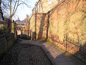 Carr's Lane, late afternoon in April 2004