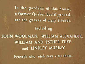 Society of Friends (Quaker) burial ground, Bishophill