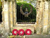 War memorial, Dean's Park, York, autumn 2004