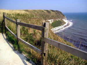 Flamborough, view from the clifftop path