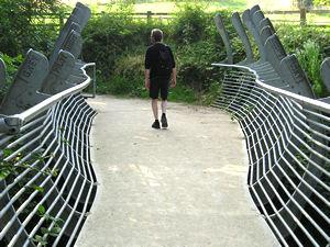 The fabulous 'Bridging the Gap' bridge
