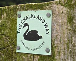 Chalkland Way marker