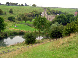 View of Wharram Percy